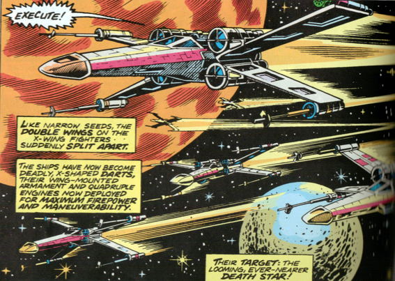 star wars x wing fighter cartoon